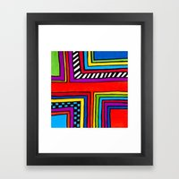 3 O'clock RoadBlock Framed Art Print