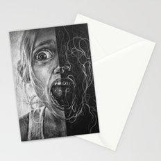 Girl Scream Stationery Cards