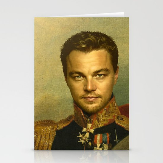 Leonardo Dicaprio - replaceface Stationery Card