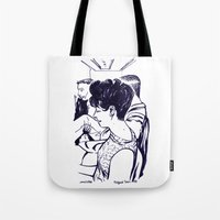 Lady In Waiting.  Tote Bag