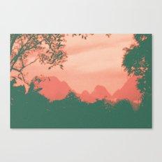 Through The Jungle Canvas Print