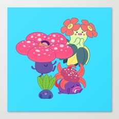 Odd Family Canvas Print