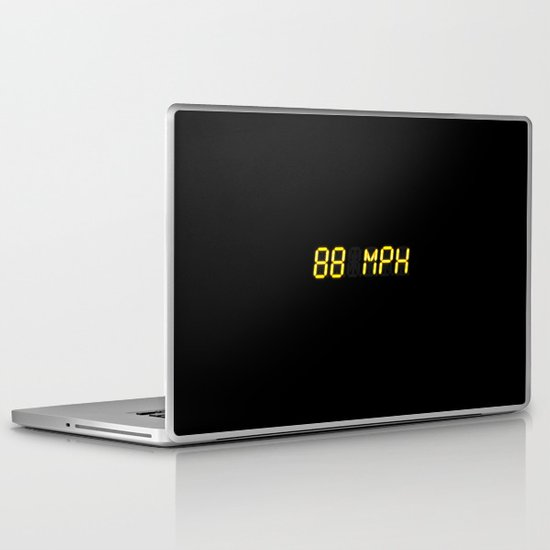 88 mph - Back to the future Laptop & iPad Skin