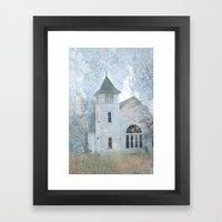 Country Church Framed Art Print