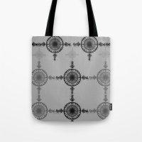 Black and White  Tote Bag