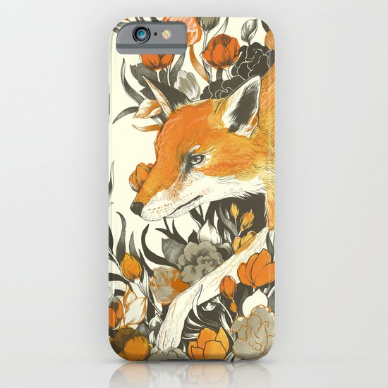 fox in foliage iPhone & iPod Case