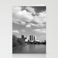 Columbus Ohio 2 - B&W Stationery Cards