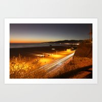 View from Ocean Avenue Art Print