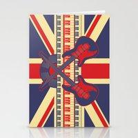 British Rock Stationery Cards