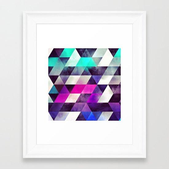 brykyn hyyrt Framed Art Print