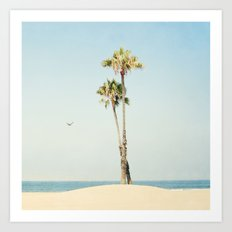 Cali Palm  Art Print