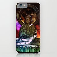 iPhone & iPod Case featuring Buddah - San Francisco Japanese Tea Garden by kreatox