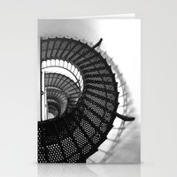 Spiral Stairs Stationery Cards