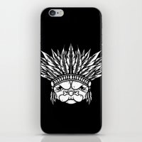 Tribal Pug iPhone & iPod Skin