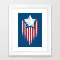 Star & Stripes Framed Art Print