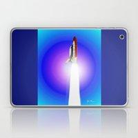 Space shuttle Alantis Laptop & iPad Skin
