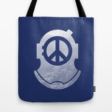 Peacediver II Tote Bag