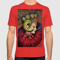Potnia Theron /Artemis Mens Fitted Tee Red SMALL