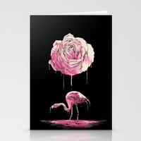 flamingo Stationery Cards