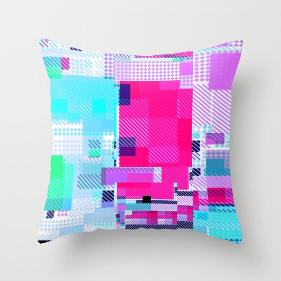 Mapping Throw Pillow