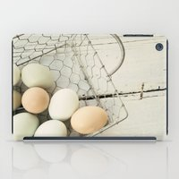 Eggs In One Basket iPad Case