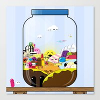 SF Sweet Jar Canvas Print