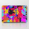 color chaos iPad Case