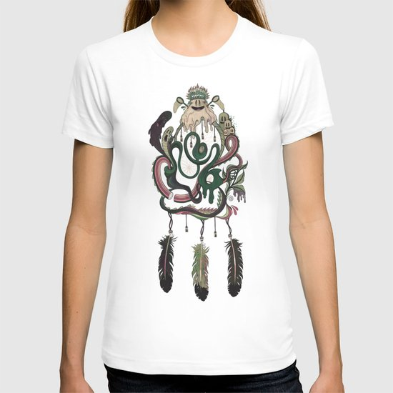 The Dream Catcher: Old Hag's Bane T-shirt