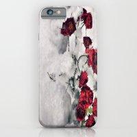 Winter  Red Roses iPhone 6 Slim Case