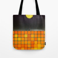Nothing - Facebook Shape… Tote Bag