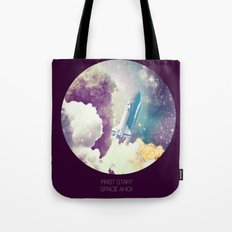 up to Space!  Tote Bag