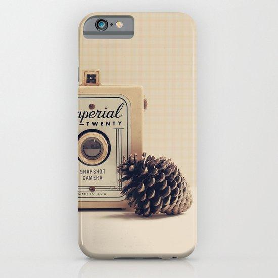 Retro Camera and Pine Cone iPhone & iPod Case