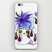 Cocotte Nepenthes iPhone & iPod Skin