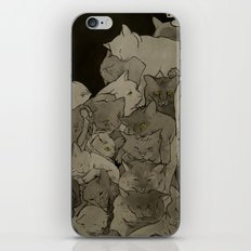 Cats & More Cats iPhone & iPod Skin