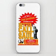 BETTER CALL SAUL  |  BREAKING BAD iPhone & iPod Skin