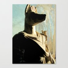 Gone to meet Anubis. Canvas Print