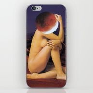 iPhone & iPod Skin featuring BLOOD MOON by Beth Hoeckel Collage…