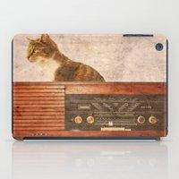 The Cat And The Radio iPad Case