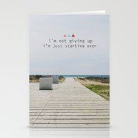 Starting  Stationery Cards