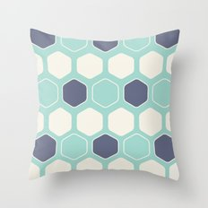 Hexed Throw Pillow
