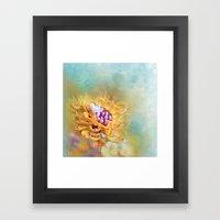 VARIE SQUARE - Floral An… Framed Art Print