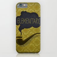 sherlock iPhone & iPod Cases featuring sherlock by serbangabriel