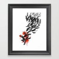 Another Long Fall Framed Art Print