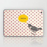 Hello Laptop & iPad Skin