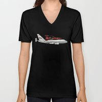 Thunderbird Carrier Unisex V-Neck