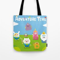 adventure time-olla Tote Bag