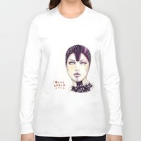 Fashion Illustration  Long Sleeve T-shirt