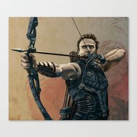 Hawkeye Canvas Print