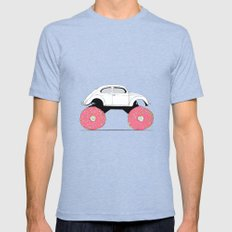 Trunkin' Donuts Mens Fitted Tee Tri-Blue SMALL