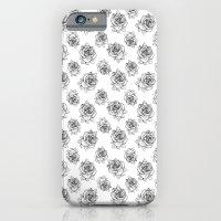 Rose Line Pattern iPhone 6 Slim Case